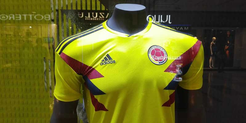 local de venta de camisetas de fútbol