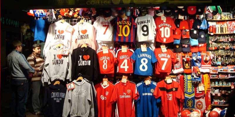 top locales de camisas de futbol