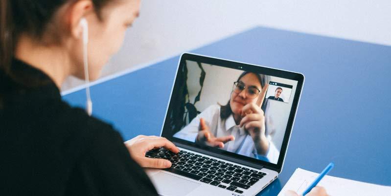 Claves para superar una entrevista online