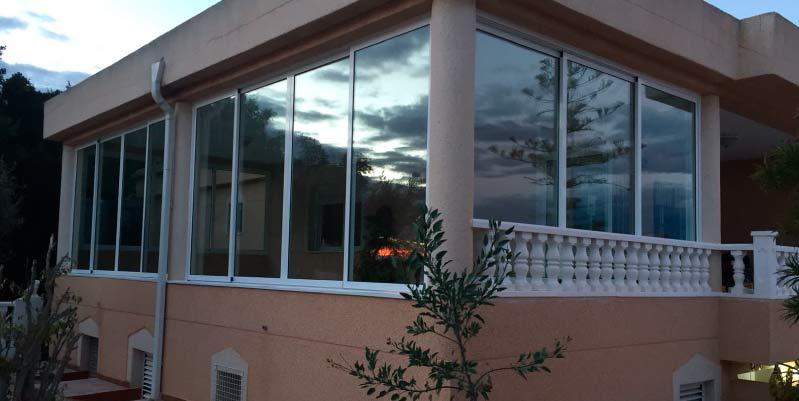 como se instala una ventana de aluminio