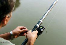como arreglar una caña de pescar