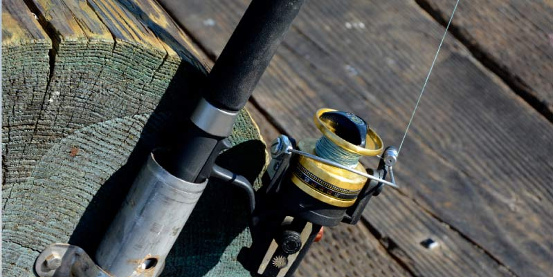 como reparar la puntera de una caña de pescar
