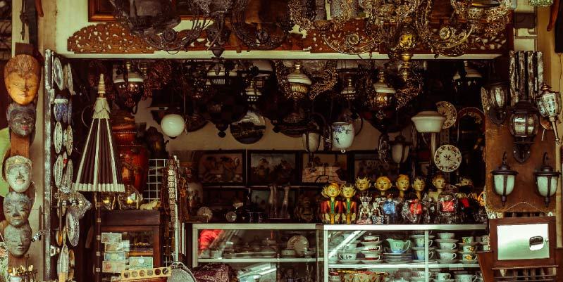tiendas compra venta antiguedades