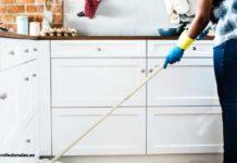 como quitar la grasa de la cocina