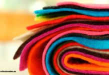 como trabajar el paño lenci