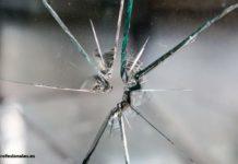 como reparar un vidrio estrellado