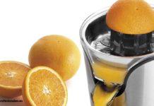 como limpiar el exprimidor de naranjas