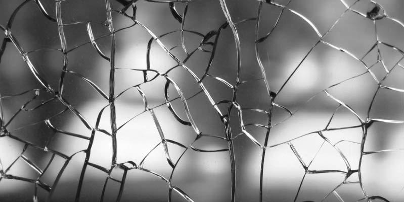 ¿Cómo arreglar un cristal roto? alternativa del momento