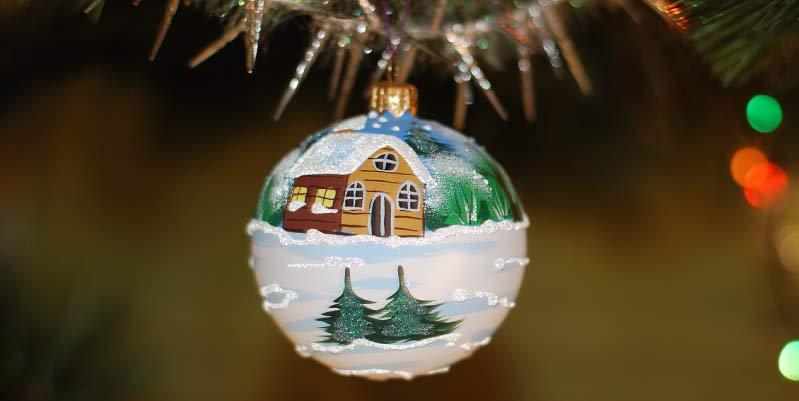 bolas de navidad caseras