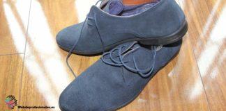 como reparar la gamuza de los zapatos